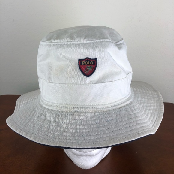 72aaf9316 POLO GOLF RALPH LAUREN BUCKET HAT SZ LARGE SPORT